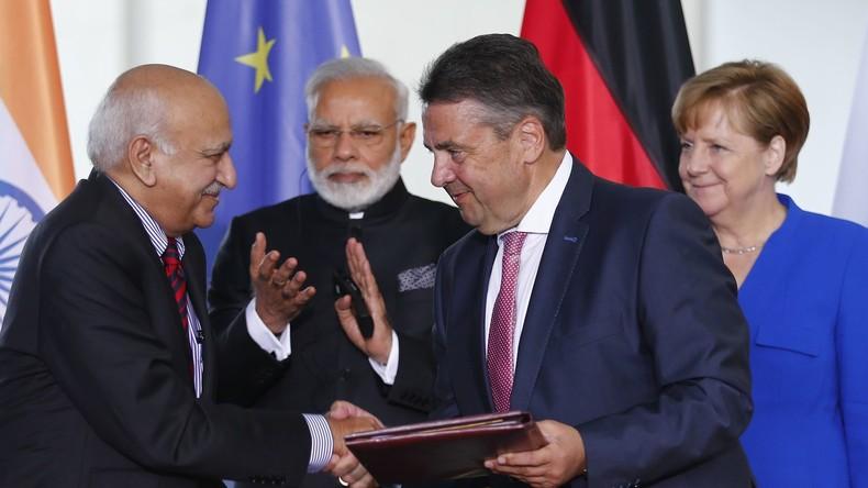 Europas Hinwendung zu Asien: Indien und China zu Staatsbesuch in Berlin