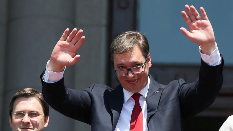 Serbiens starker Mann Vucic neuer Staatspräsident