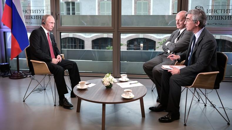 Wladimir Putin im Interview mit Le Figaro: Ukraine, Syrien, Wahlen [deutsche Gesamtübersetzung]