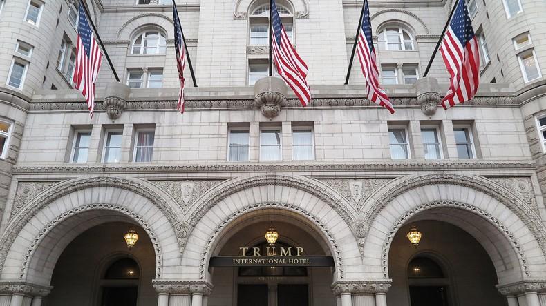 Polizei nimmt Mann in Trump-Hotel fest - Waffen sichergestellt