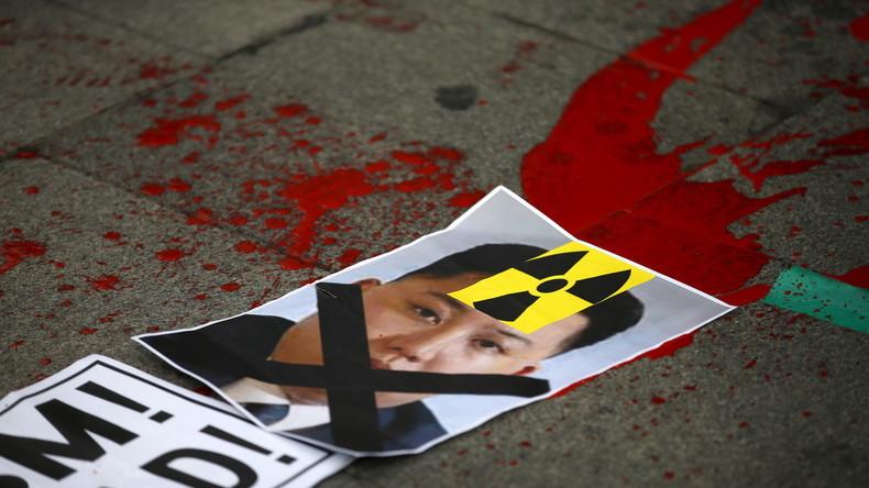 Korea-Krise eskaliert weiter: Neue Aktivitäten an Nuklearanlage, USA verlegen Global Hawk-Drohnen