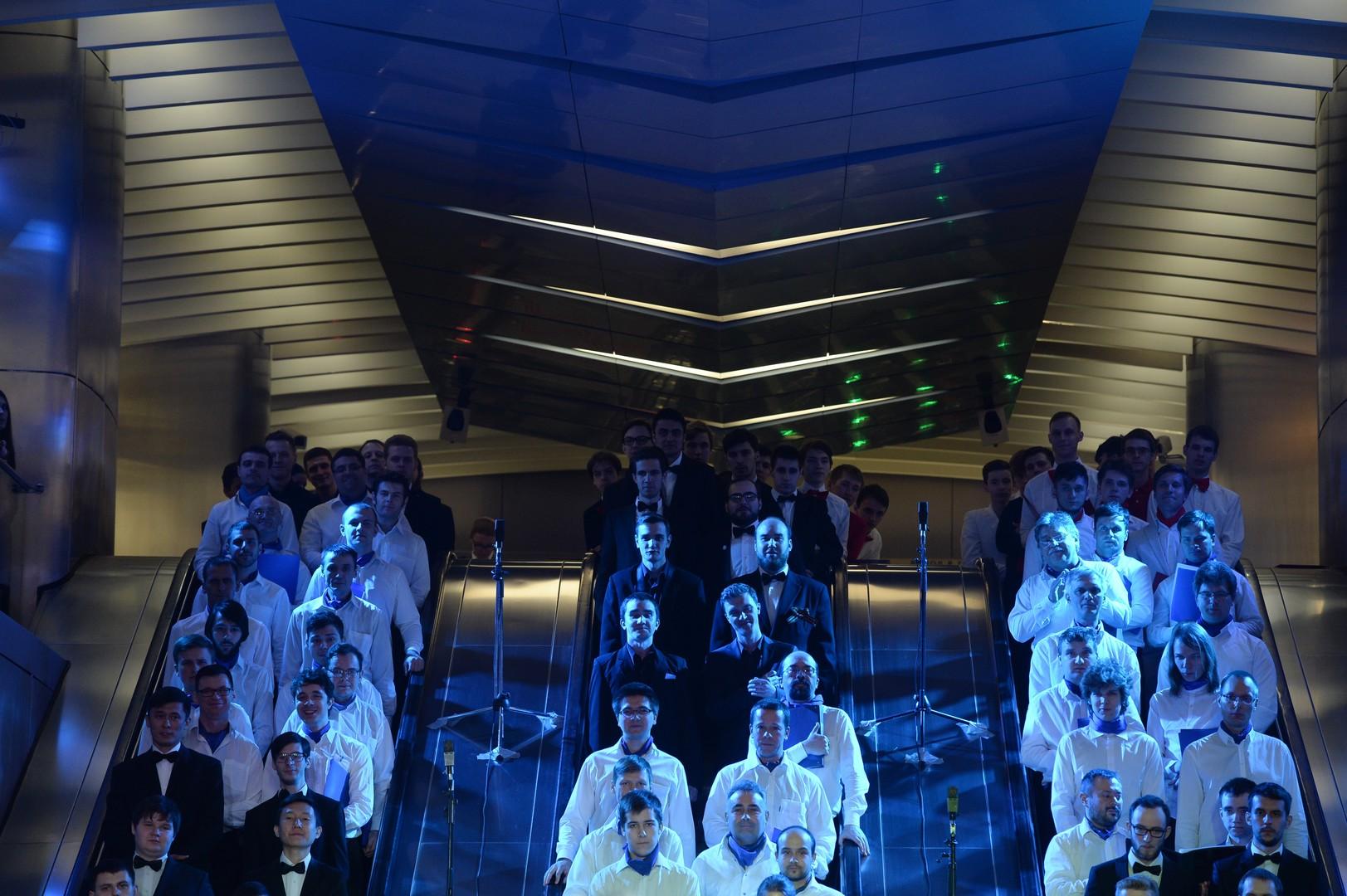 Moskauer U-Bahn wird zur Bühne für Oper nach Tolkiens Werk