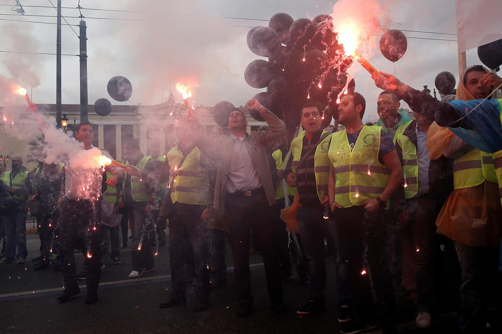 Landesweite Streiks in Griechenland gegen europäische Sparpolitik