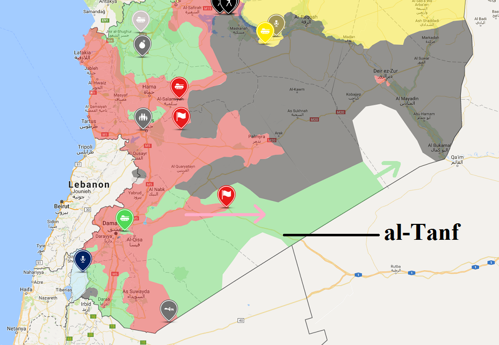 US-Koalition greift Pro-Assad-Truppen in Syrien an, die sich Militärbasis Al-Tanf nähern