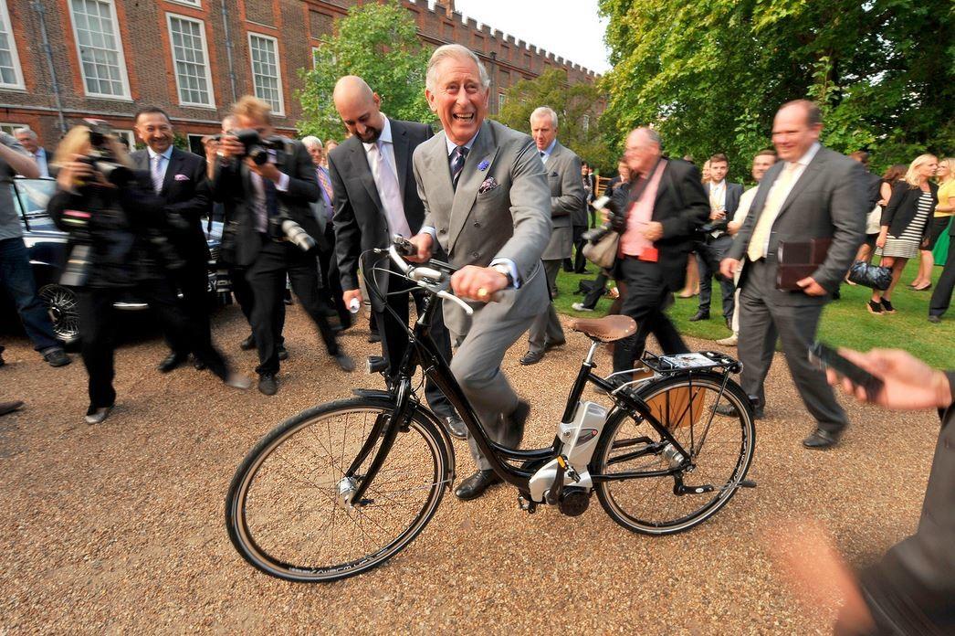 Prince Charles, der Thronfolger des Vereinigten Königreiches