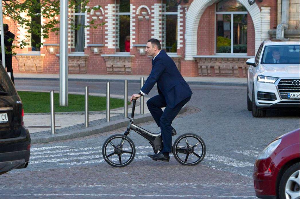 Bürgermeister von Kiew Vitali Klitschko