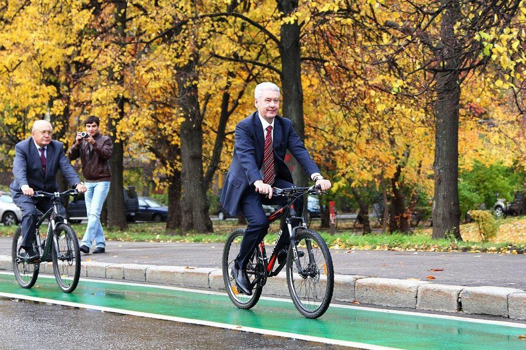 Bürgermeister von Moskau Sergei Sobjanin