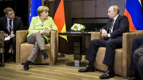 Merkel über UkraineßKrise: Es fehlt an der Umsetzung und nicht an Abkommen