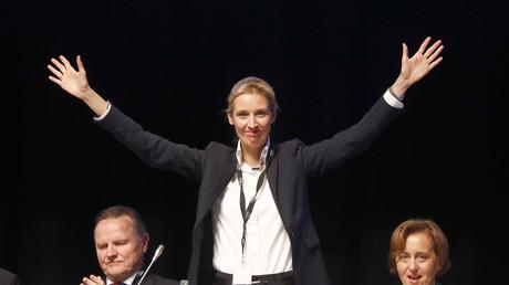 Im Streit mit der Satire-Sendung extra 3: AfD-Spitzenkandidatin Alice Weidel.