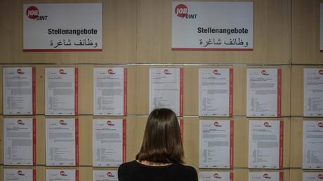 Arbeitslosenzahl in Deutschland weiter gesunken