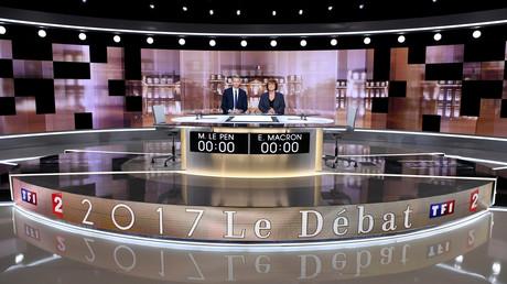 Macron und Le Pen ringen in TV-Duell um unentschlossene Wähler