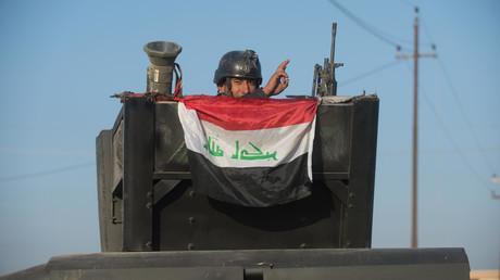 Irakische Militärs starten Offensive von Nordwesten auf Mossul