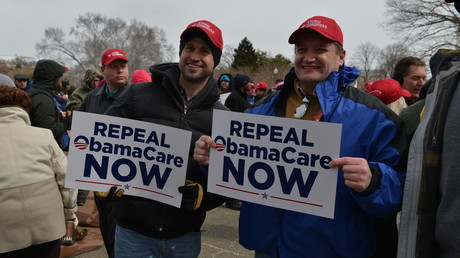 Demonstration der Obamacare-Gegner in Washington
