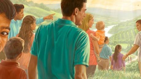 Kleine Religionsgemeinschaft mit weltweit stetig wachsender Anhängerschaft: die Zeugen Jehovas  Bild: jw.org