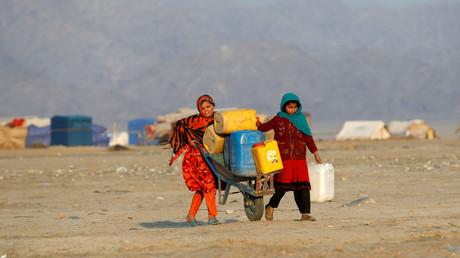 Offensive der afghanischen Taliban treibt Tausende in die Flucht (Archivbild)