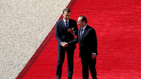 Emmanuel Macron tritt offiziell das Präsidentenamt an