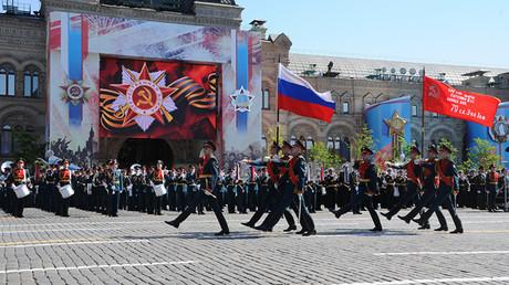 Gedenkfeierlichkeiten zum Tag des Sieges im Großen Vaterländischen Krieg 2016. Bild: Sputnik/Michail Klimentjew