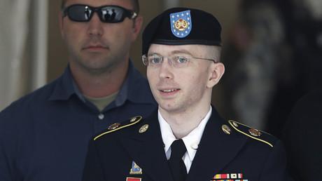 Als Analyst für das Militär leitete Bradley Manning massenhaft geheime Informationen an Wikileaks weiter, hier vor dem Militärgericht in Fort Meade, 30. Jul 2013.