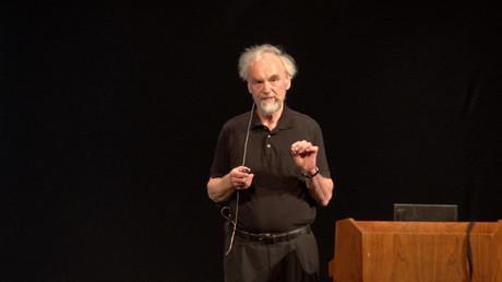 Prof. Rainer Mausfeld, Bild: acTVism.com