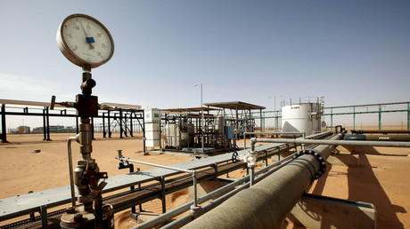 Das El Sharara Ölfeld; Libyen, 3. Dezember 2014.