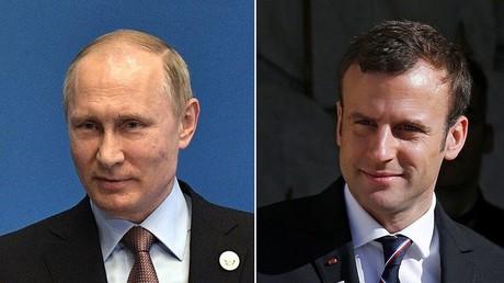 Macron empfängt Putin am 29. Mai in Versailles