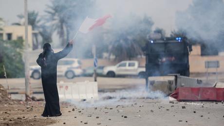 Ein Toter bei Protesten im Königreich Bahrain (Archivbild)