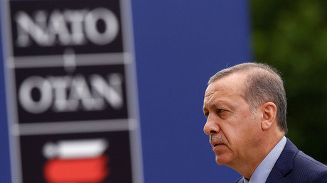 Der türkische Präsident Tayyip Erdogan auf dem NATO-Gipfel in Warschau, 9. Juli 2016.