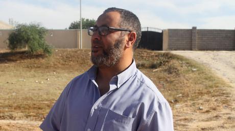 Ramadan Abedi, der Vater von Salman Abedi, dem Selbstmordbomber, der 22 Konzert-Besucher in Manchester tötete, bei einem Reuters-Interview in Tripoli, Libyen, 24. Mai 2017.