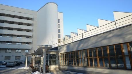 Studentenwohnheim Haus der Kommune an der Ordschonikidse-Straße