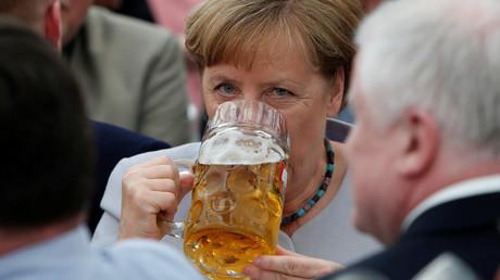 Angela Merkel beschwört angesichts G7-Krise Zusammenhalt Europas