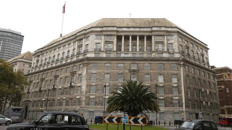 Thames House, die Zentrale des britischen Inlandsgeheimdienstes MI5.