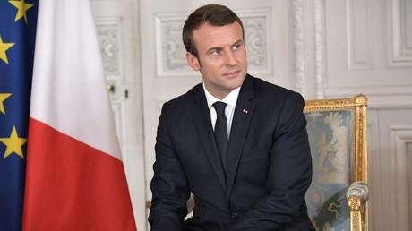 Französischer Präsident Macron: RT und Sputnik waren während des Wahlkampfs Propagandaorgane