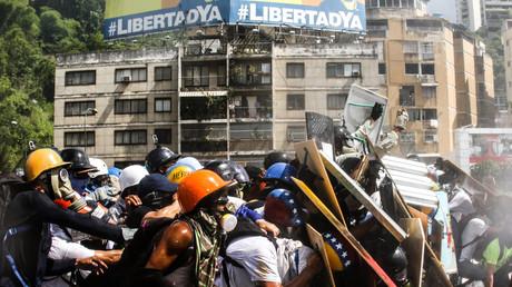 Anti-Regierungsdemonstration in Caracas, 29. Mai 2017