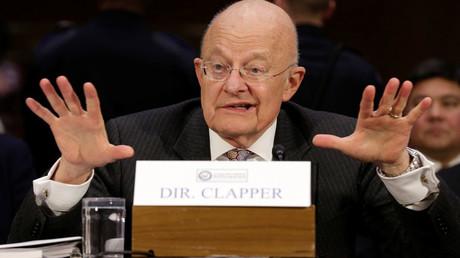 James R. Clapper, ehemaliger Geheimdienstdirektor sagt vor dem Komitee des US-Senats zur