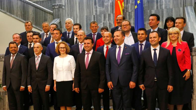 Neue mazedonische Regierung vom Parlament bestätigt