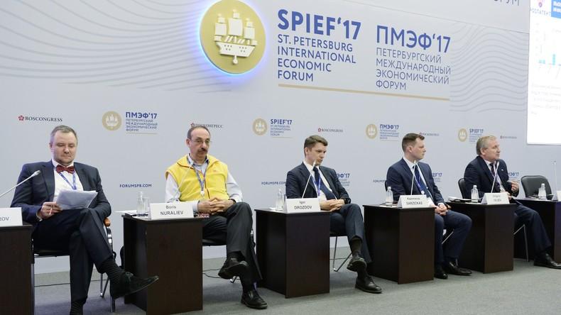 """""""Neue Balance"""": Internationales Petersburger Wirtschaftsforum startet heute in Sankt Petersburg"""