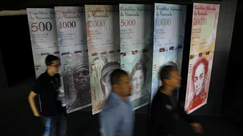 Venezuelas Zentralbank wertet Währung drastisch ab