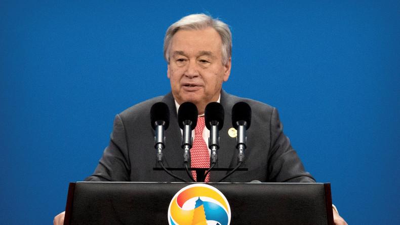 UNO-Generalsekretär eröffnet Petersburger Wirtschaftsforum