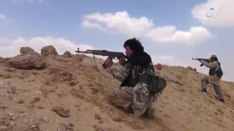 IS überfällt Militärkonvoi der syrischen Armee in Palmyra und tötet zahlreiche Soldaten