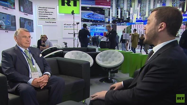 """Klaus Mangold: """"Welt hat sich an Sanktionen gewöhnt - Wirtschaft wächst"""""""