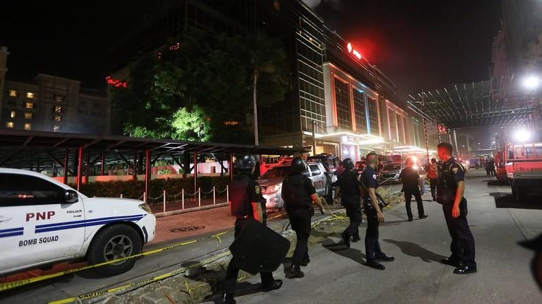 Mindestens 36 Opfer bei Überfall auf Hotelanlage in Manila - Mutmaßlicher Täter tot