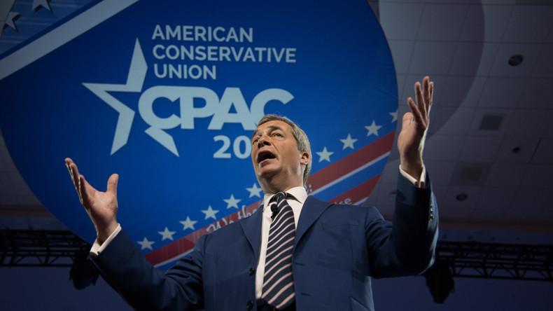 Nigel Farage belustigt über FBI-Behauptung, er sei in russische Einmischung in US-Wahl involviert