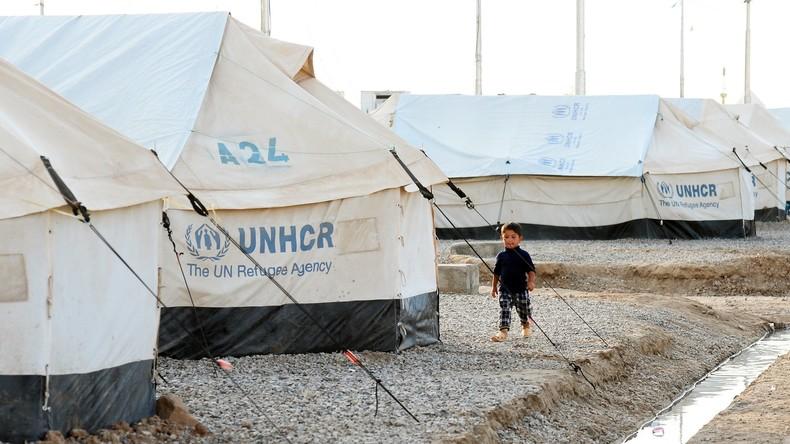 UN brauchen dringend Geld für Versorgung von Mossul-Flüchtlingen