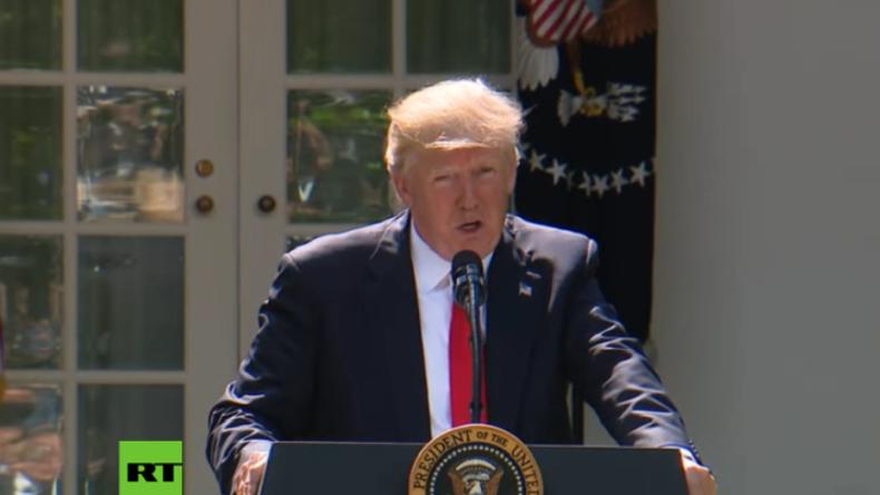 Trump zu Klima-Abkommen: Ich wurde nicht gewählt, um Lobbys zu vertreten, sondern US-Bürger