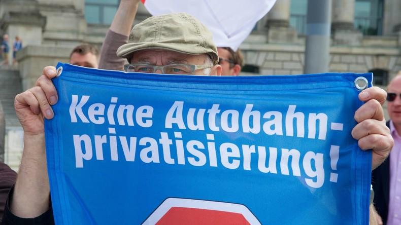 Autobahn-Privatisierung: Bundesrat winkt durch – Länder mit linker Regierungsbeteiligung sind dabei