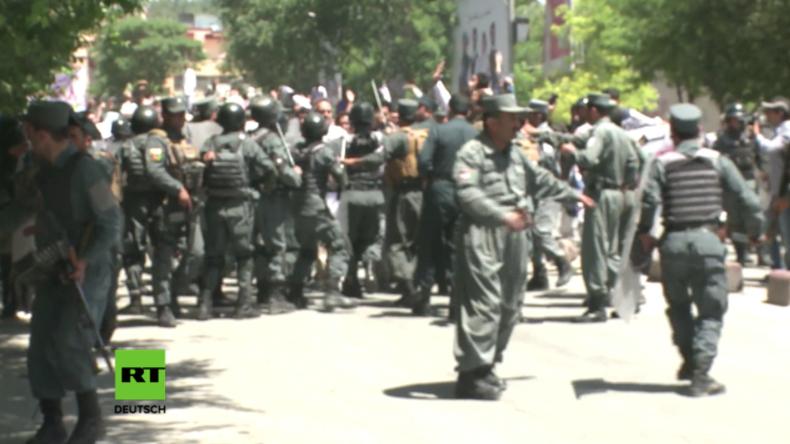 Schwere Ausschreitungen bei Protesten nach tödlicher Explosion in Kabul – Sieben Tote