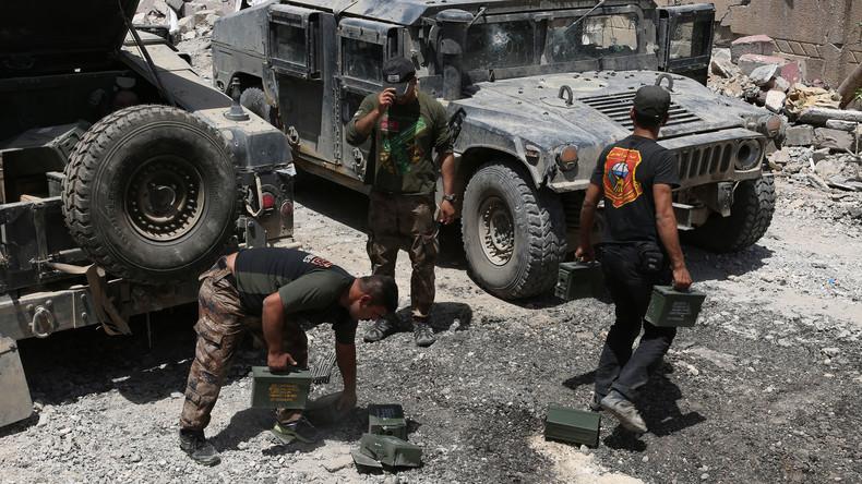 Irak: Nach Ende des IS droht Instabilität - Pentagon erbittet Geld für irakischen Anti-Terror-Dienst