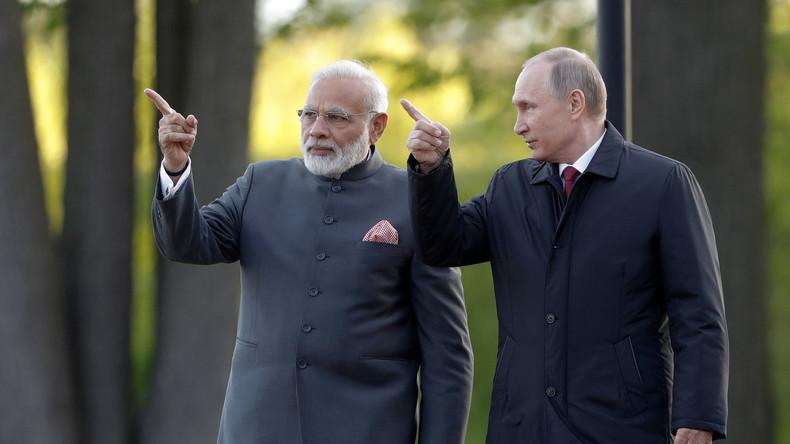 800 % Handelswachstum: Russland-geführte Eurasische Wirtschaftsunion und Indien planen Freihandel