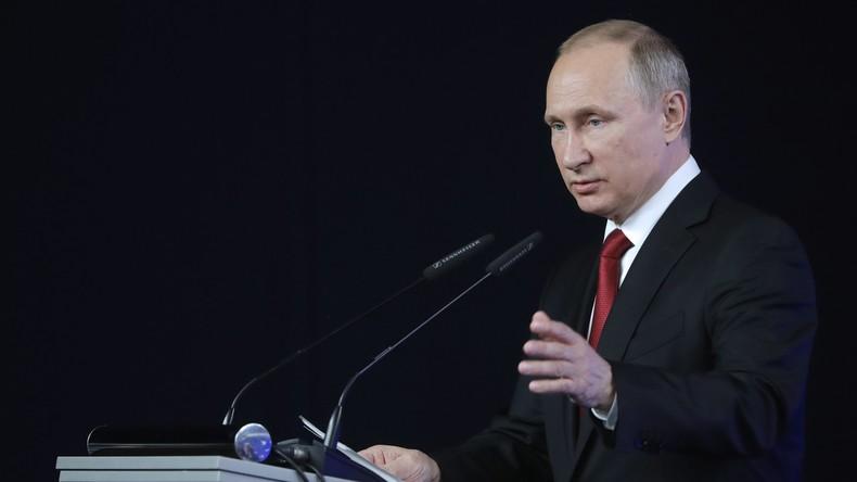 Wladimir Putin: Was Merkel auch sagt - die Souveränität Deutschlands ist begrenzt