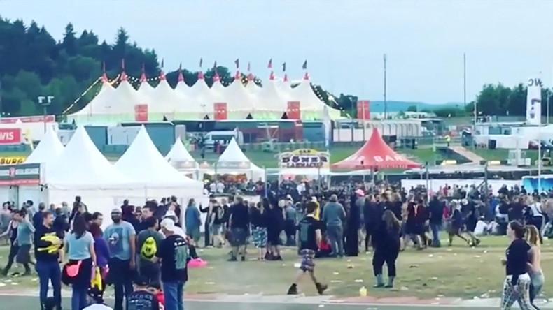 Durchsuchungen auf Festivalgelände von Rock am Ring laufen weiter